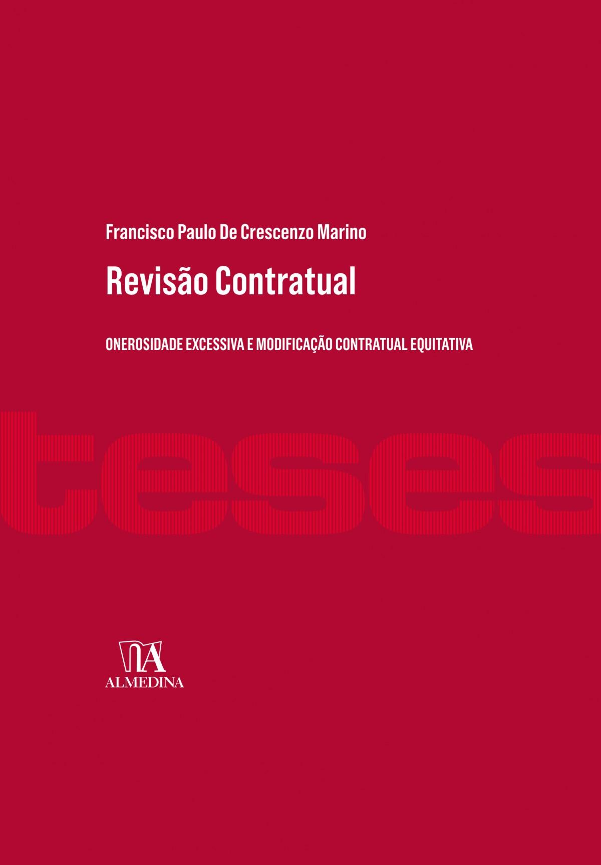 Foto 1 - Revisão Contratual - Onerosidade Excessiva e Modificação Contratual Equitativa