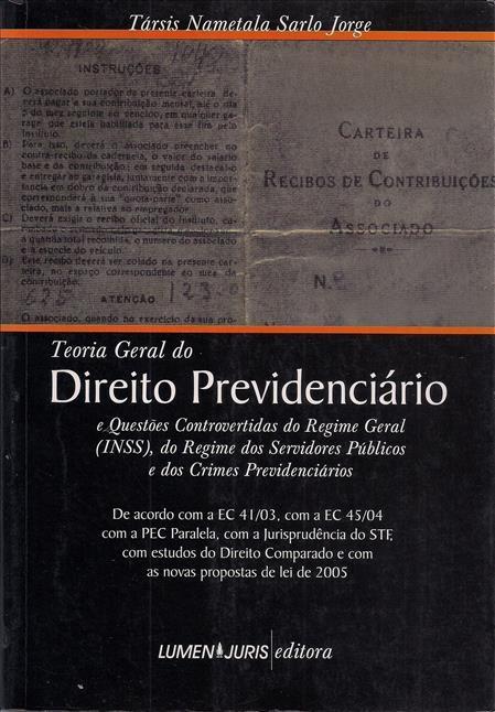 Foto 1 - Teoria Geral Do Direito Previdenciário