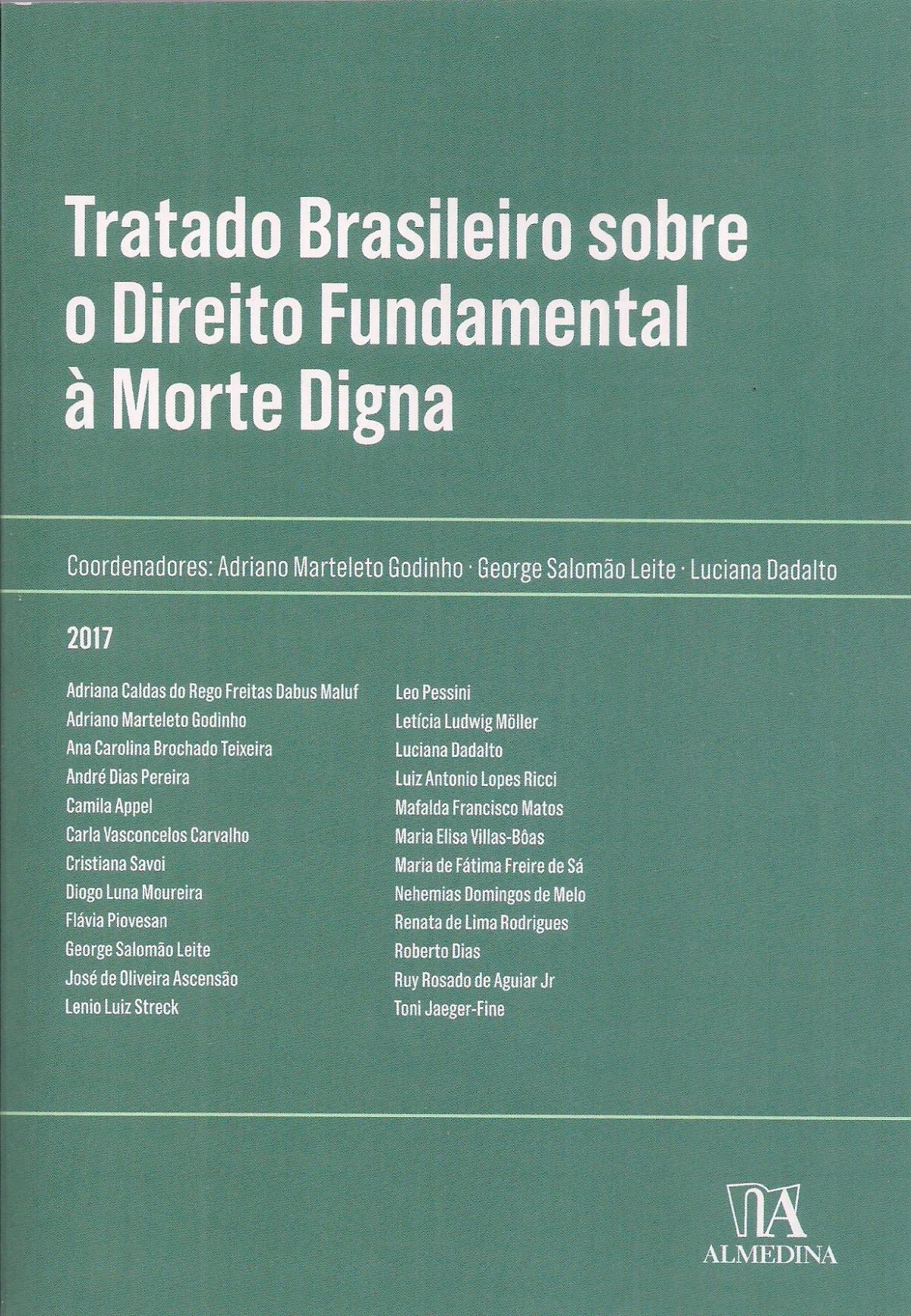 Foto 1 - Tratado Brasileiro sobre o Direito Fundamental á Morte Digna