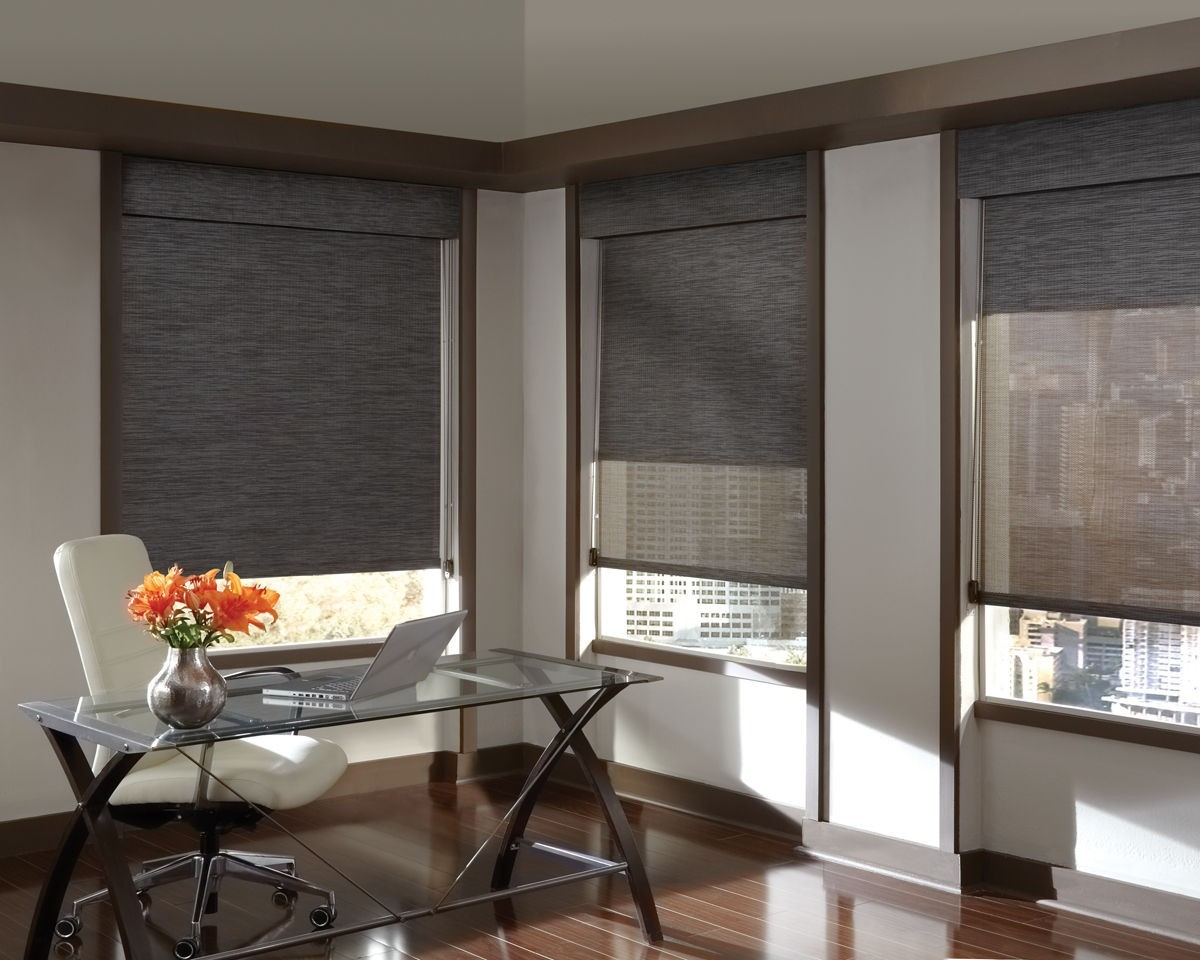 Foto3 - Cortina Rolo Blackout Pinpoint - Medida: 1,80 x 1,80