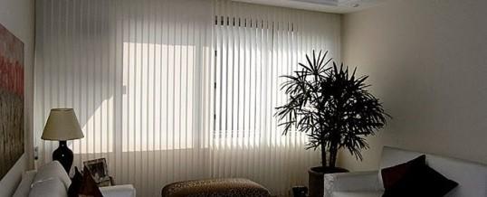 Foto5 - Persiana Vertical Classic - Medida 1,80 x 1,80 - Com Bandô