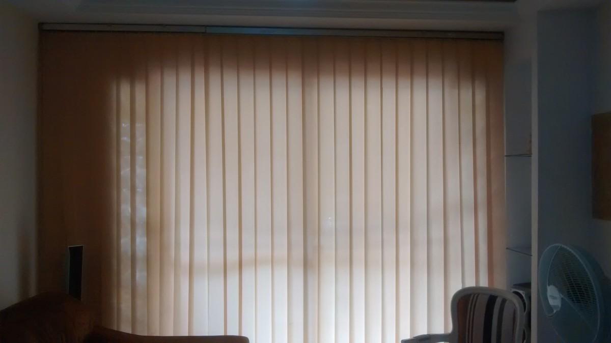 Foto8 - Persiana Vertical Classic - Medida 1,80 x 1,80 - Com Bandô