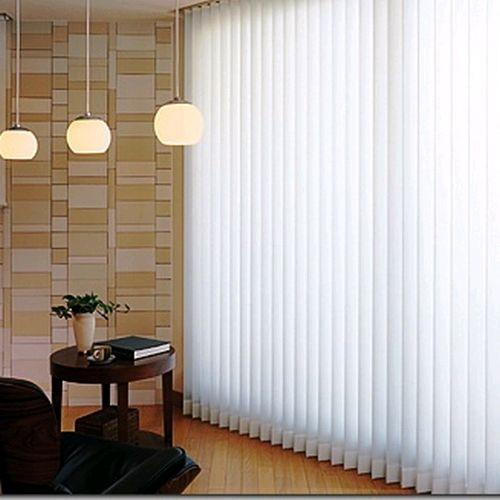 Foto2 - Persiana Vertical Polyester - Medida 1,80 x 1,80 - Com Bandô