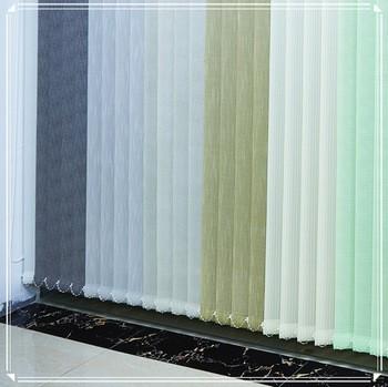 Foto5 - Persiana Vertical Polyester - Medida 1,80 x 1,80 - Com Bandô