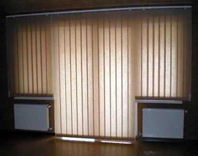 Foto 1 - Persiana Vertical Rústica - Coleção Dohler - 1,80 x 1,80 - Com Bandô