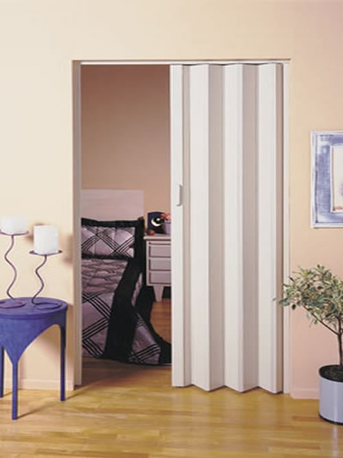 Foto5 - Porta Sanfonada de PVC - Medida 0,80 Largura x 2.10 Altura