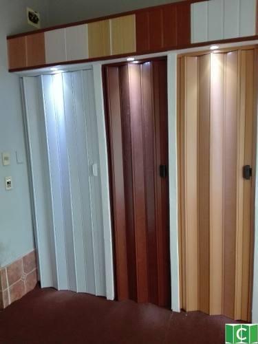 Foto2 - Porta Sanfonada de PVC - Medida 0,80 Largura x 2.10 Altura