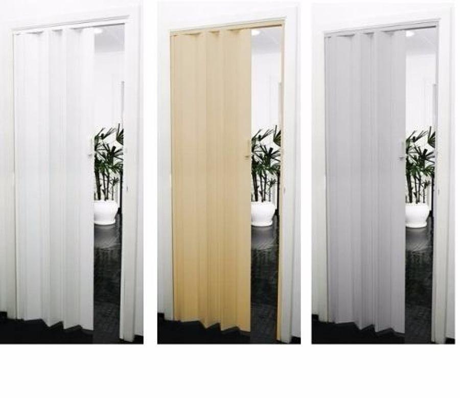 Foto3 - Porta Sanfonada de PVC - Medida 0,80 Largura x 2.10 Altura