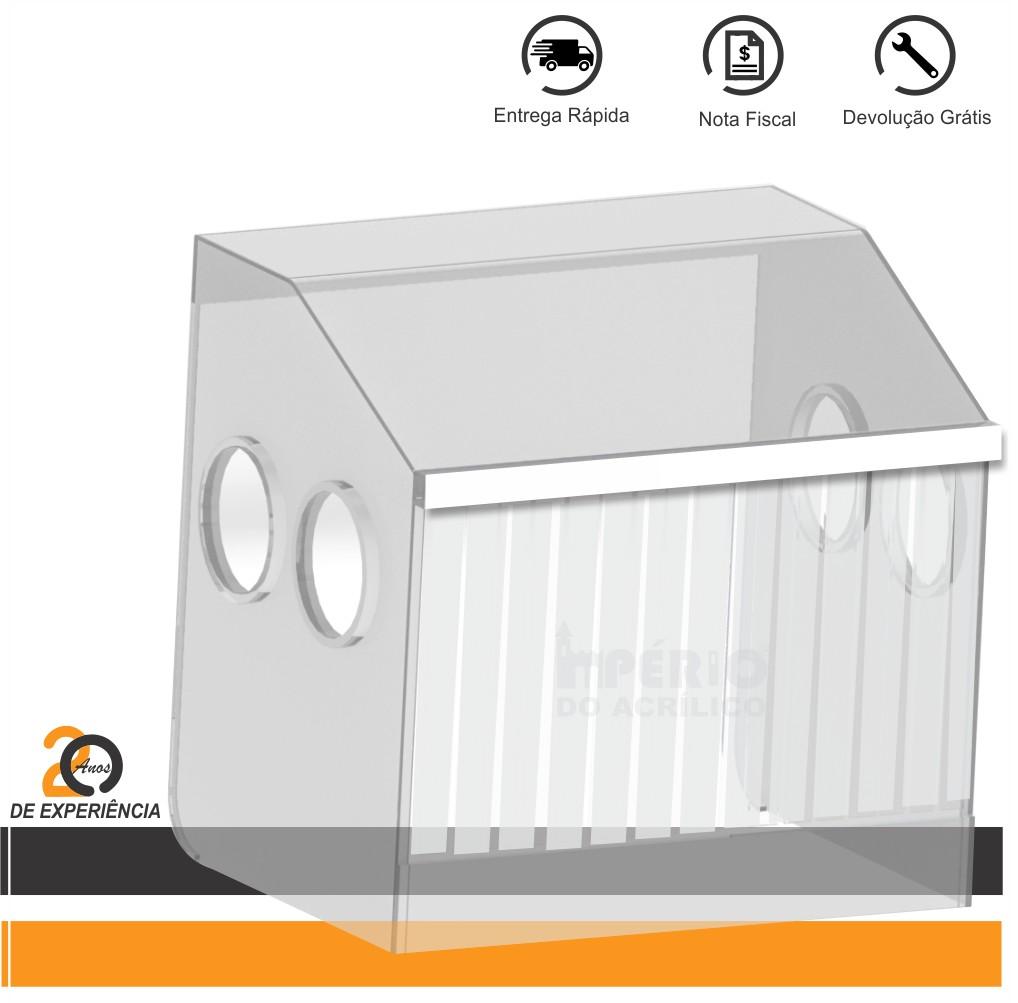Foto 1 - Caixa Isoladora em Acrílico Desmontável para Estética