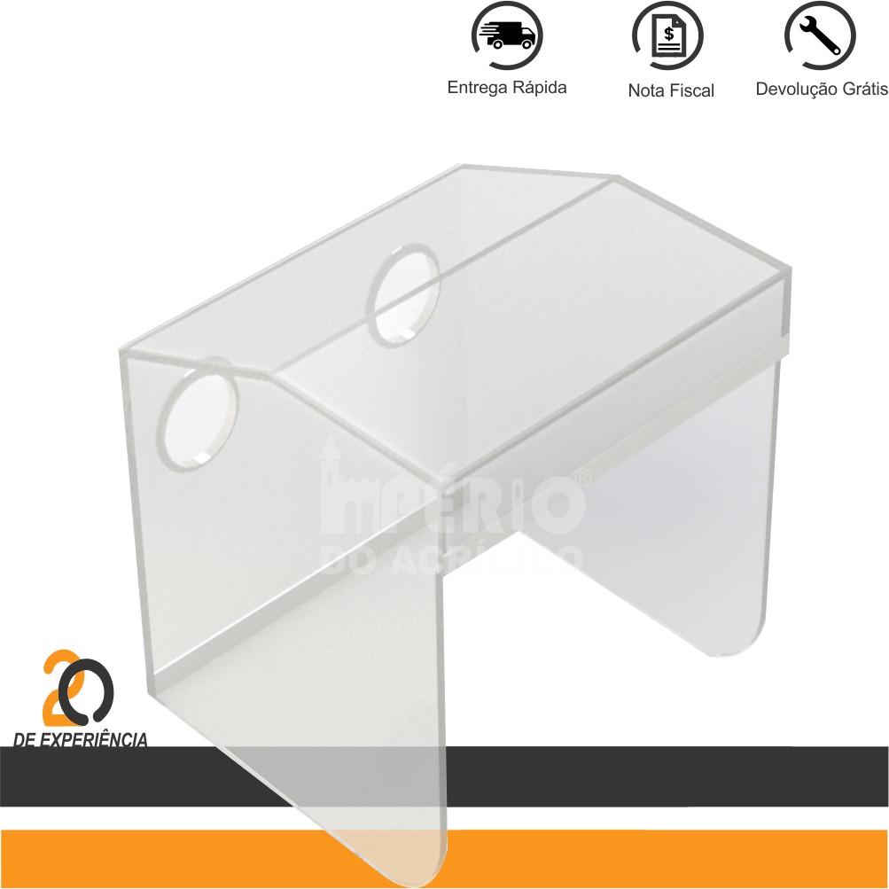 Foto2 - Caixa Isoladora desmontável para Intubação de Pacientes