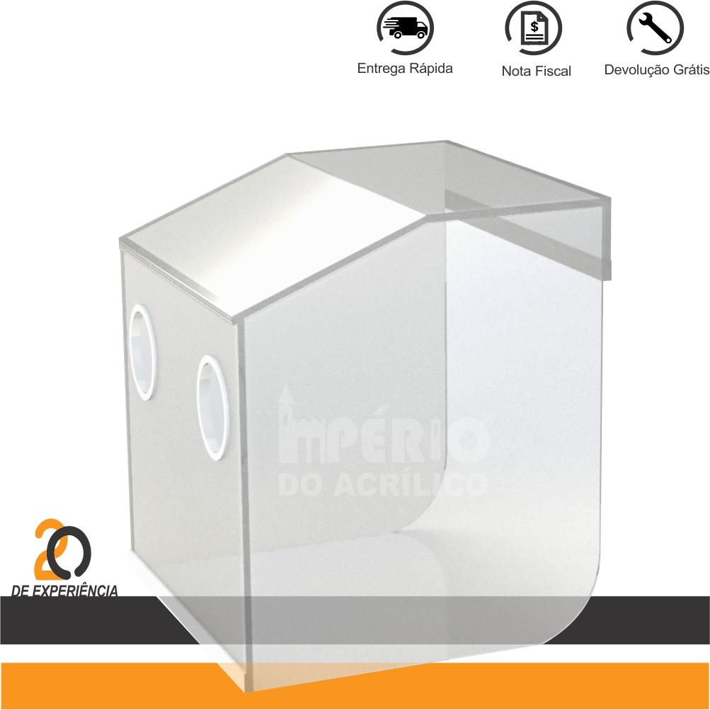 Foto 1 - Caixa Isoladora desmontável para Intubação de Pacientes