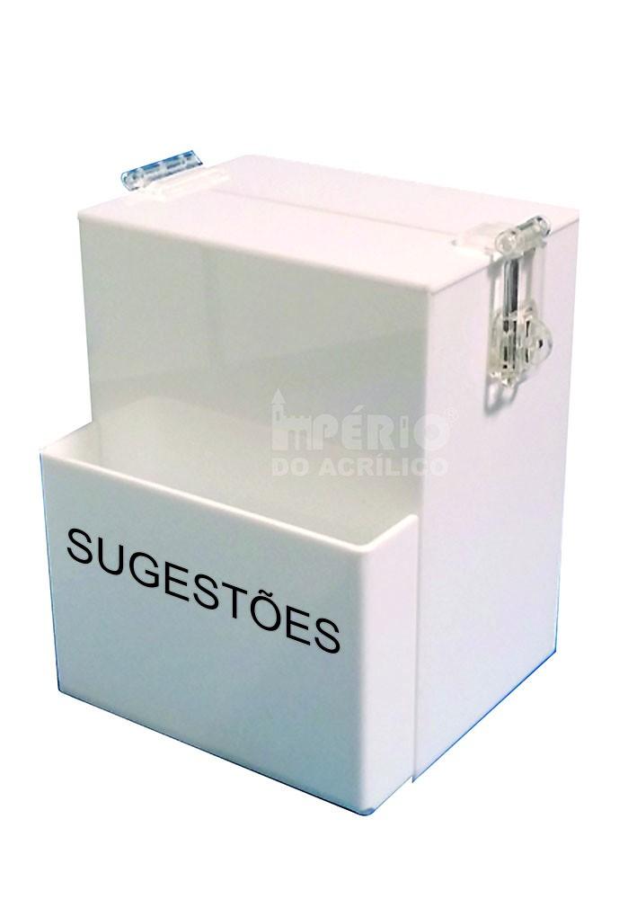 Foto 1 - Caixa de Sugestões