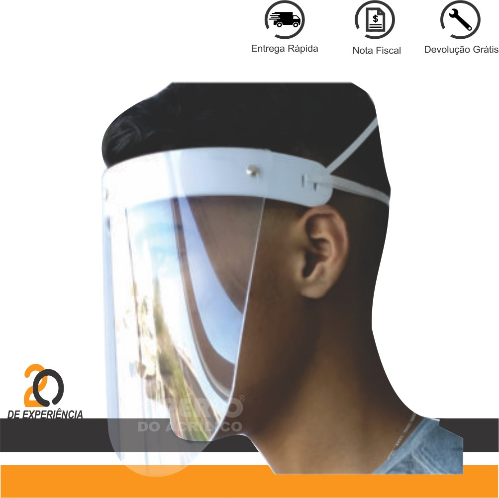 Foto 1 - Mascara de Proteção facial Total