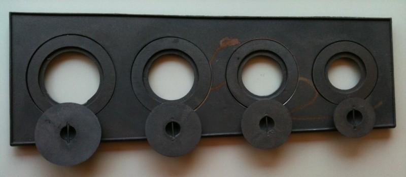 Imagem do produto Chapa para fogão 4 bocas c/redução