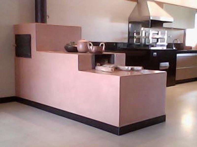 Imagem do produto Fogão á lenha cimento queimado