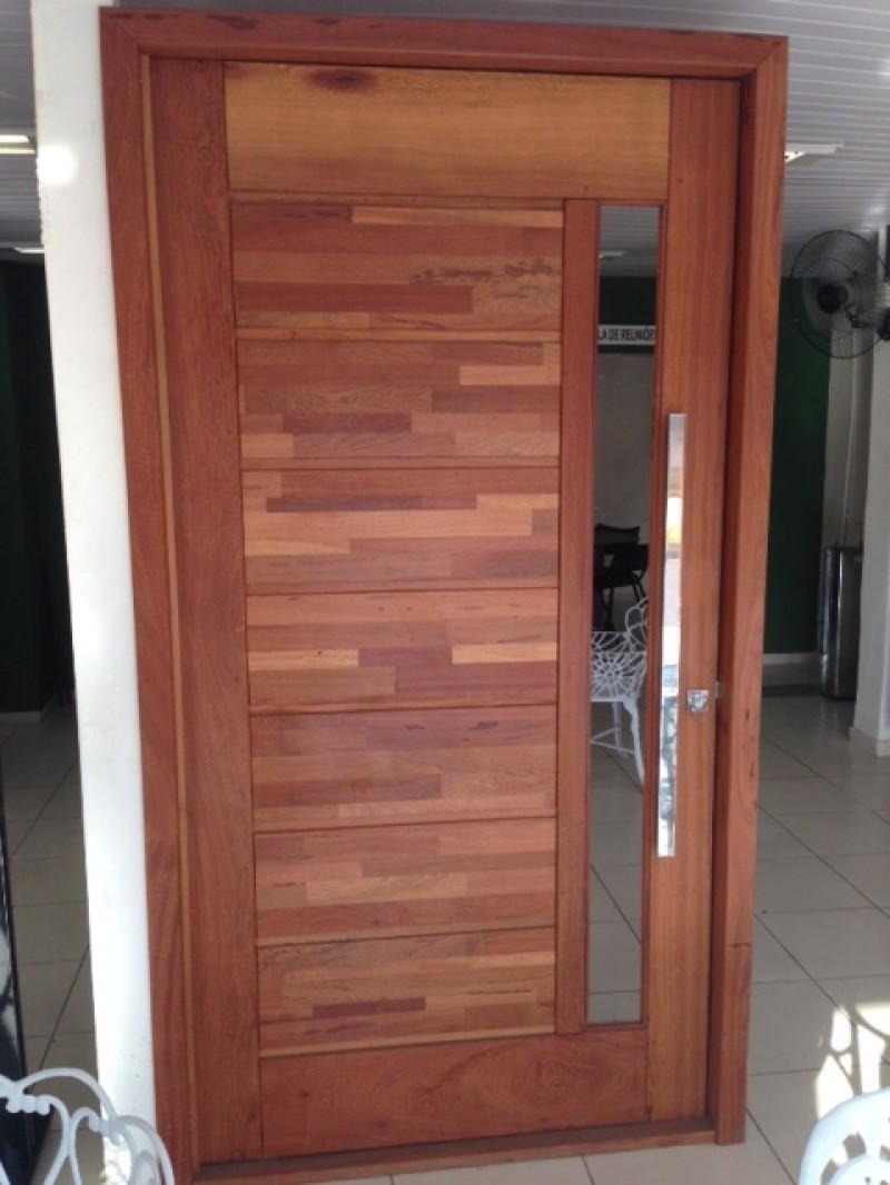 Imagem do produto Porta Pivotante PSM 1411 madeira Angelim