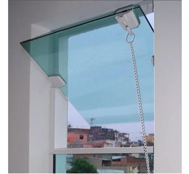 Imagem do produto BASCULANTE VIDRO TEMPERADO (VERDE OU FUME)
