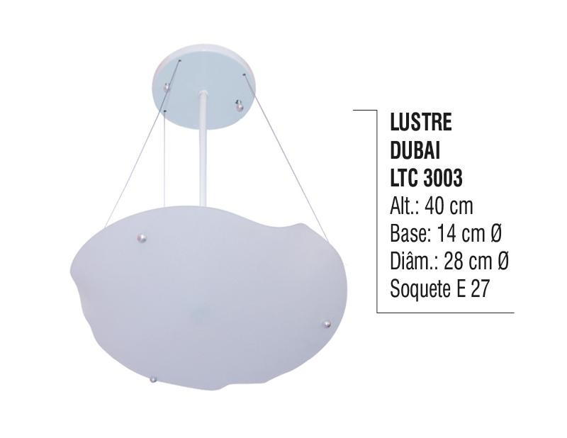 Imagem do produto LUSTRE DUBAI