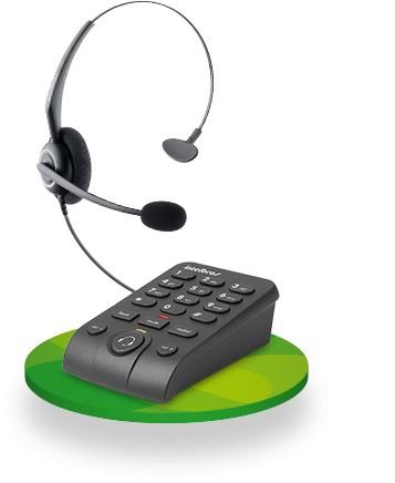 Imagem do produto TELEFONE HEADSET INTELBRAS HSB 50