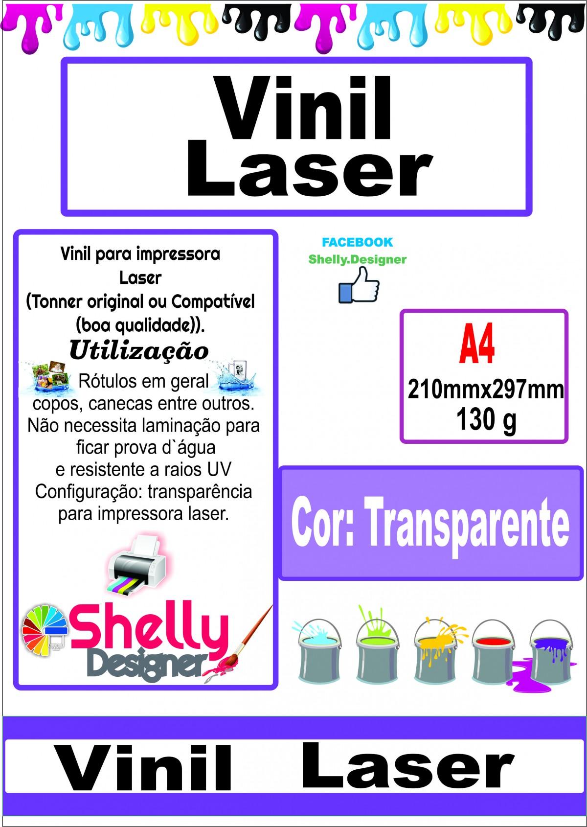 Artesanato Uniart ~ Produtos personalizáveis e papelaria Shelly Designer Vinil Adesivo para impress u00e3o