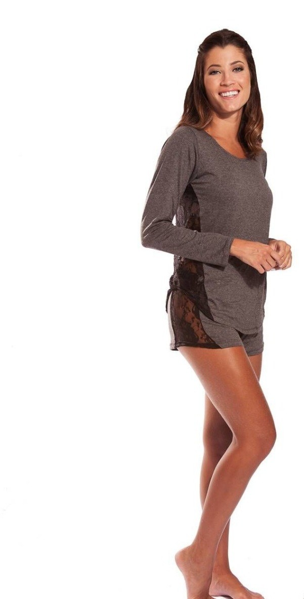 Foto 1 - Pijama short e blusa