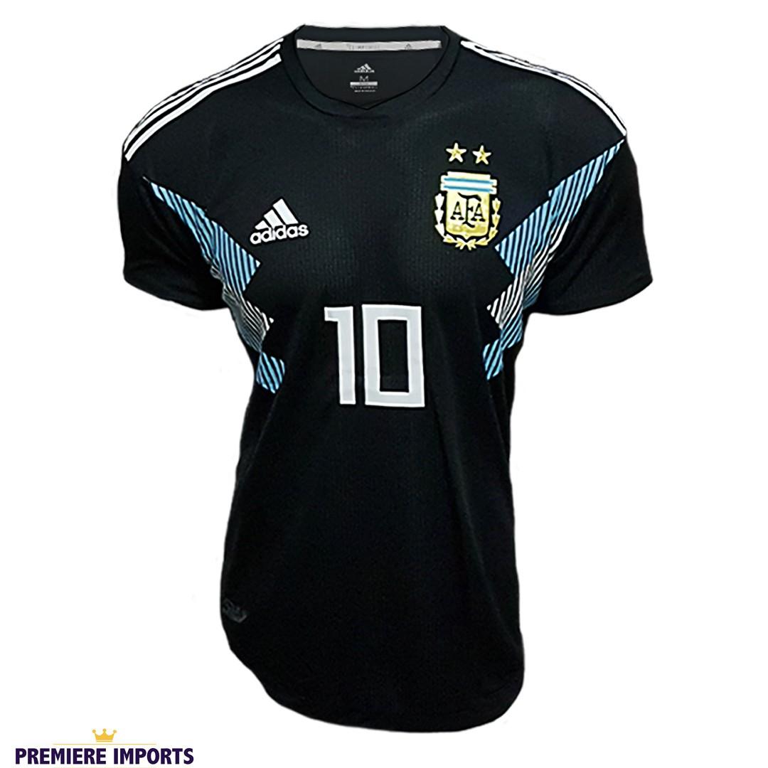 Foto 1 - Camisa Oficial Argentina Away Messi 10 2018
