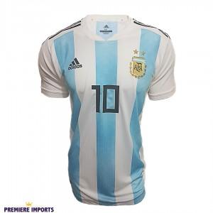 Foto1 - Camisa Oficial Argentina Home Messi 10 2018
