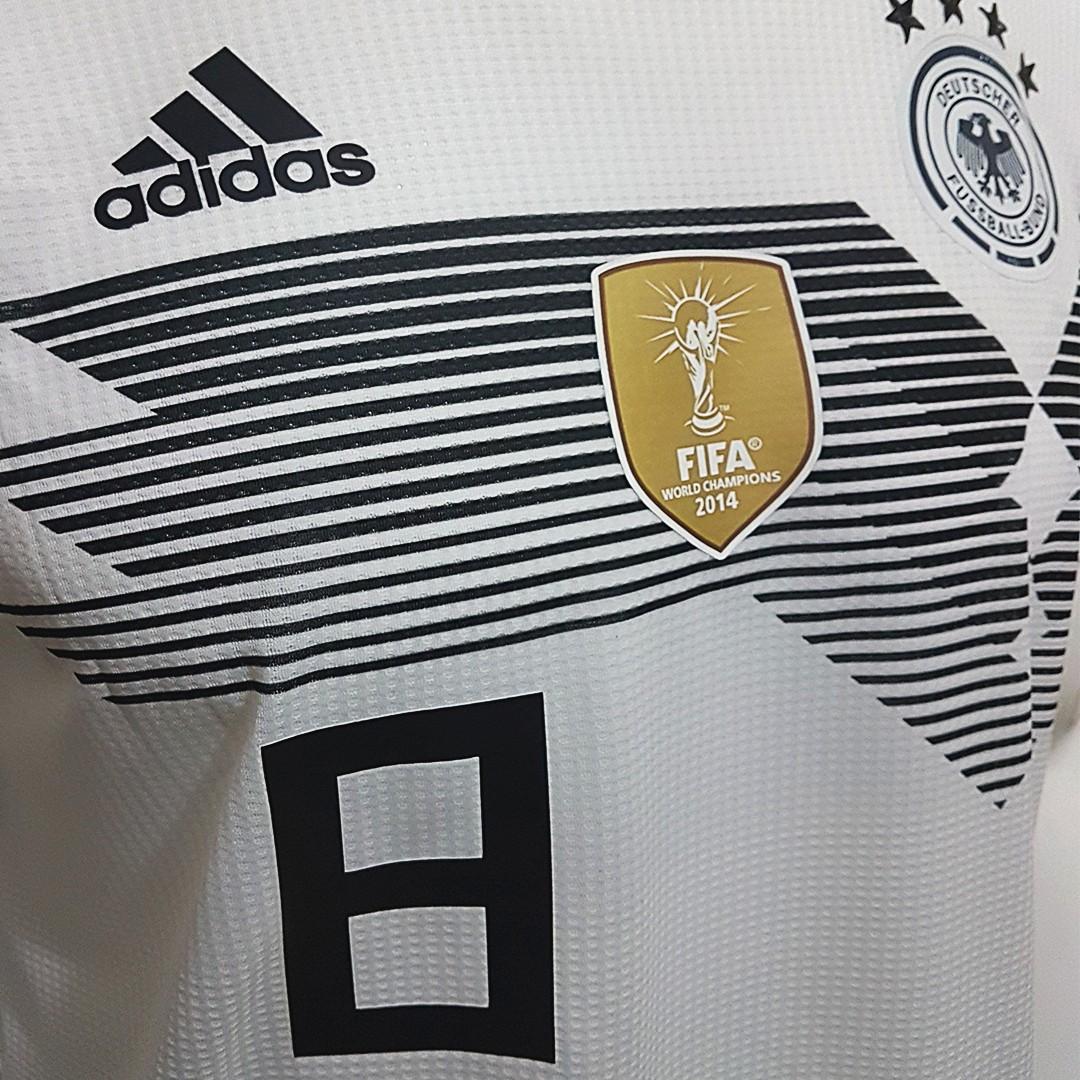 Foto6 - Camisa Oficial Alemanha Home 2018