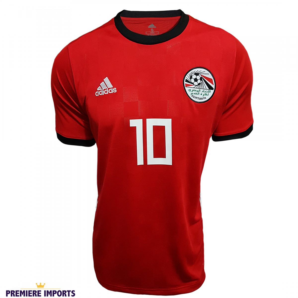 Foto 1 - Camisa Oficial Egito Home Salah 10 2018