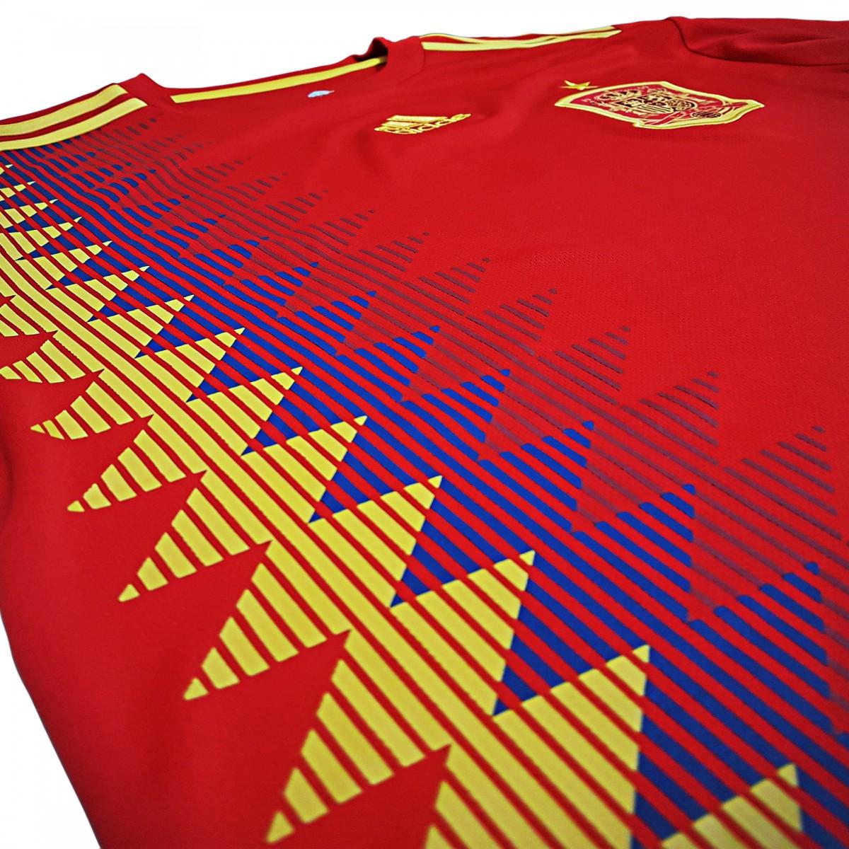 Foto3 - Camisa Oficial Espanha Home 2018