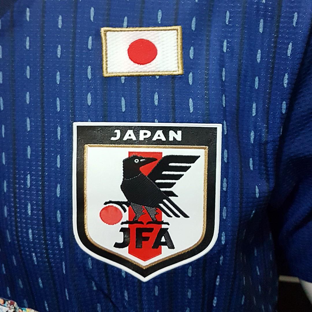 Foto2 - Camisa Oficial Japão Home Tsubasa 2018