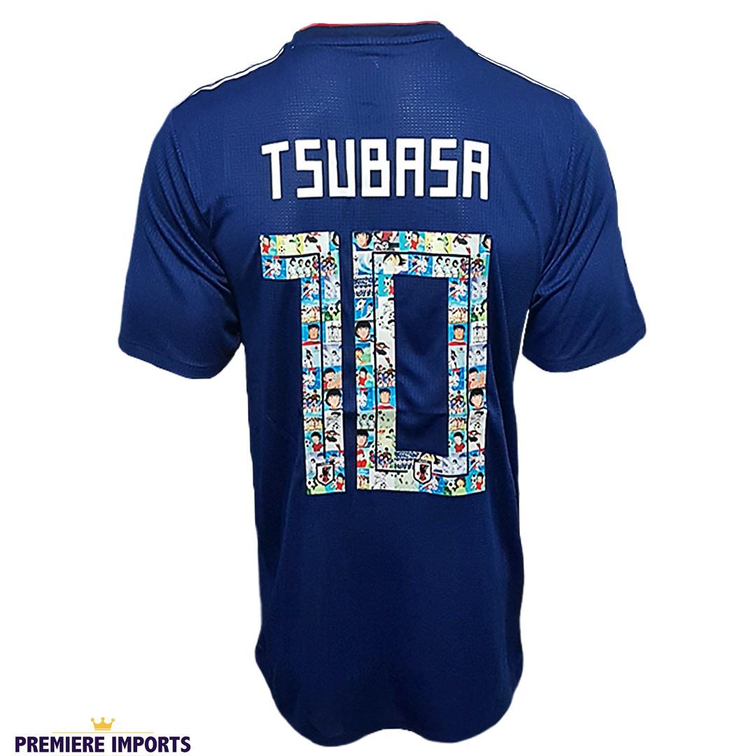 Foto6 - Camisa Oficial Japão Home Tsubasa 2018