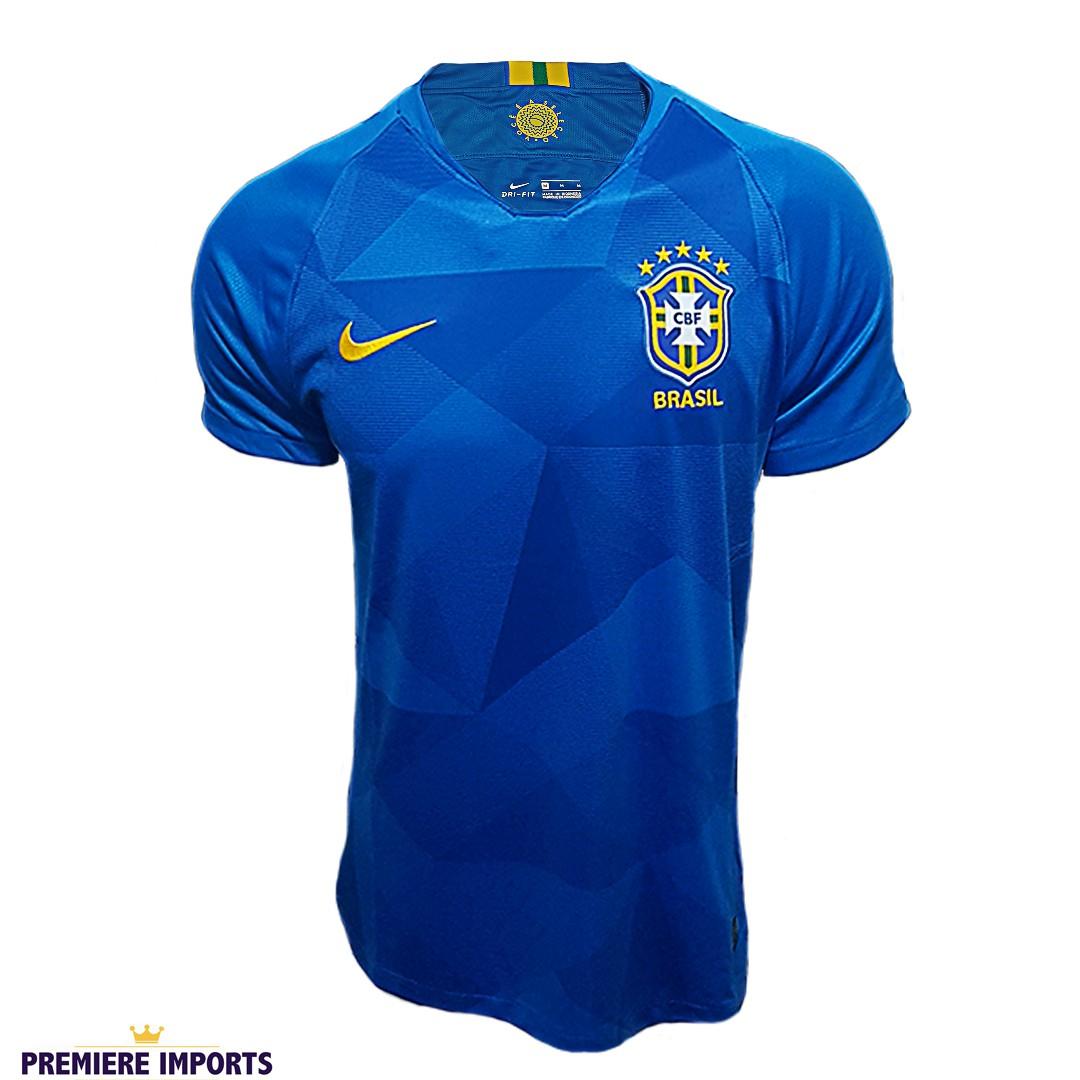 Foto 1 - Camisa Oficial Brasil Away 2018