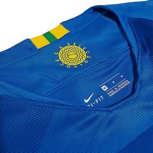 Foto5 - Camisa Oficial Brasil Away 2018