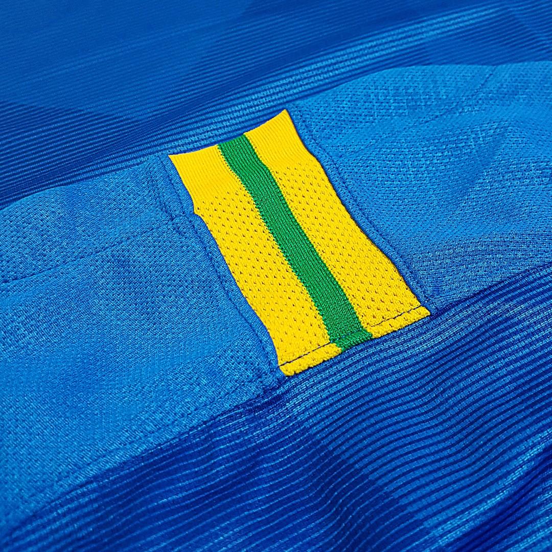 Foto8 - Camisa Oficial Brasil Away 2018