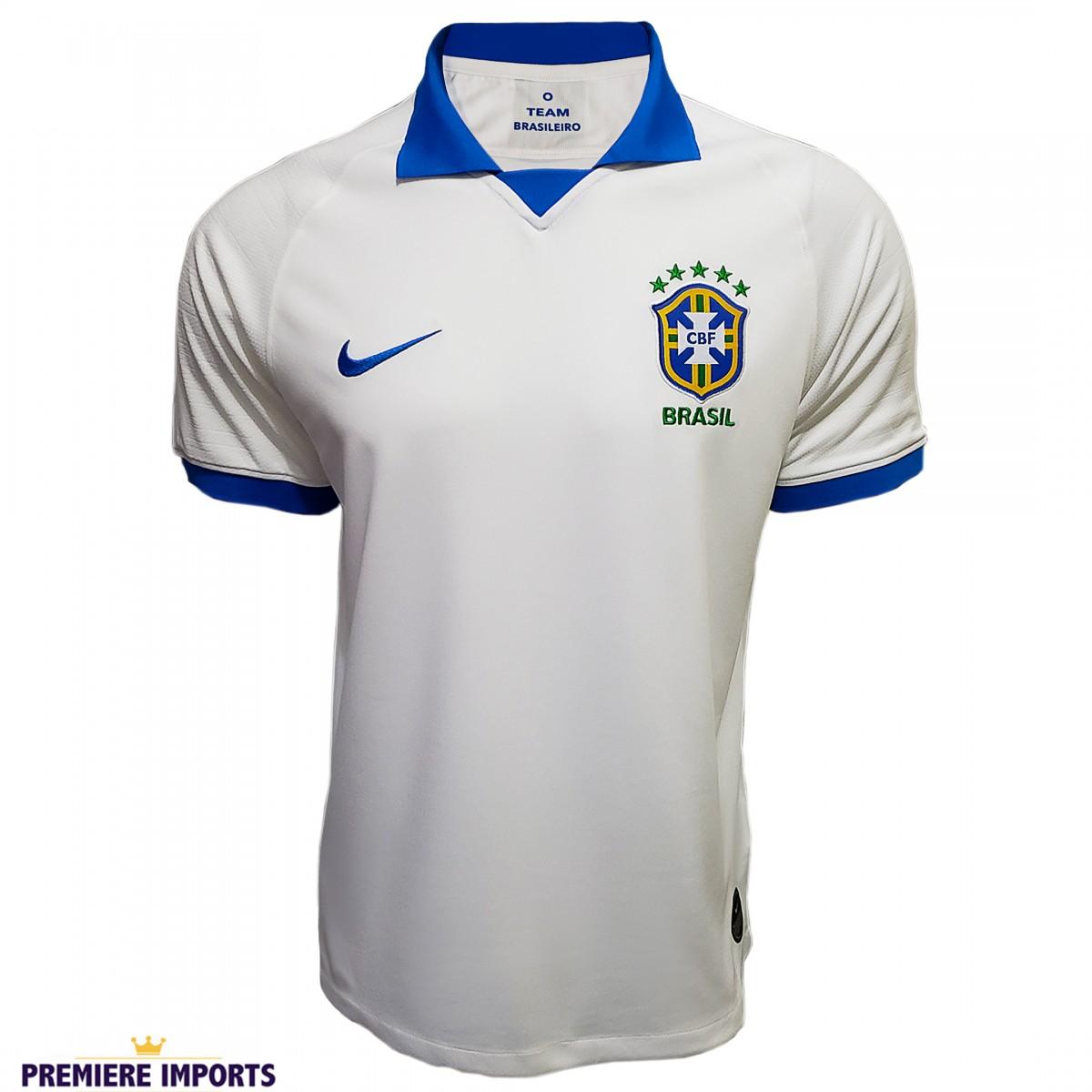 Foto 1 - Camisa Oficial Nike Brasil Comemorativa 2019