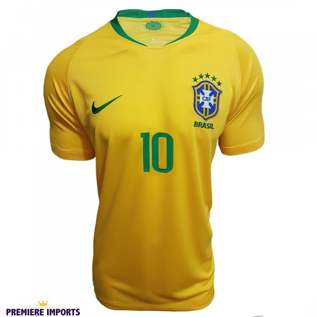 Foto 1 - Camisa Oficial Brasil Home 2018