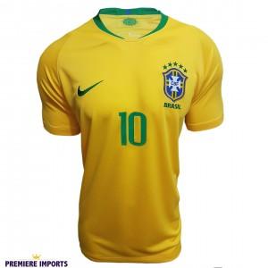 Foto1 - Camisa Oficial Brasil Home 2018