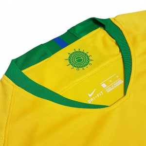 Foto2 - Camisa Oficial Brasil Home 2018