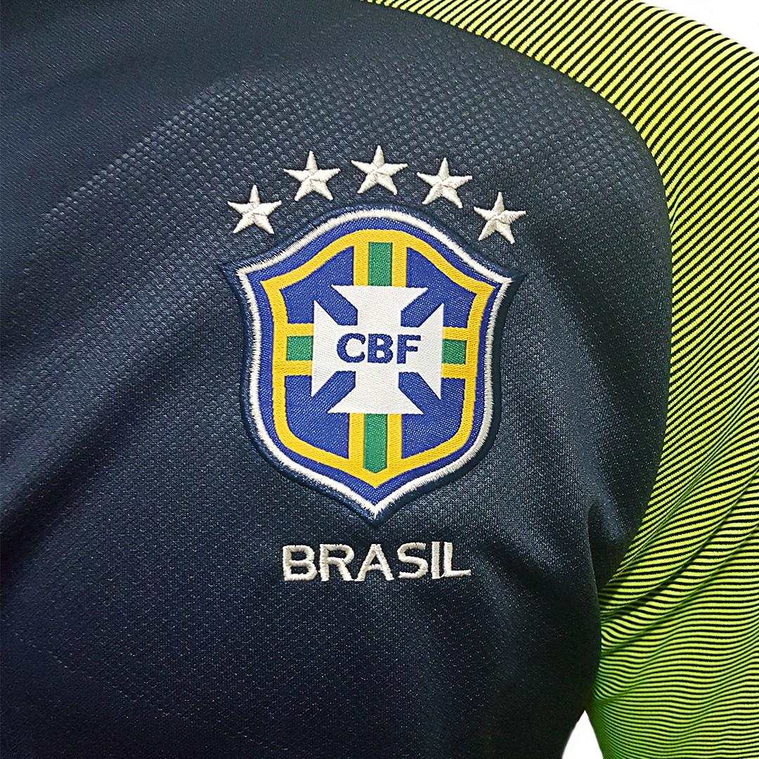 Foto2 - Conjunto Nike Agasalho de Treino Seleção Brasileira