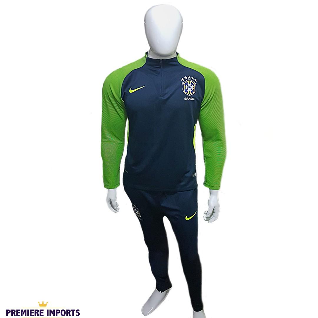 Foto4 - Conjunto Nike Agasalho de Treino Seleção Brasileira