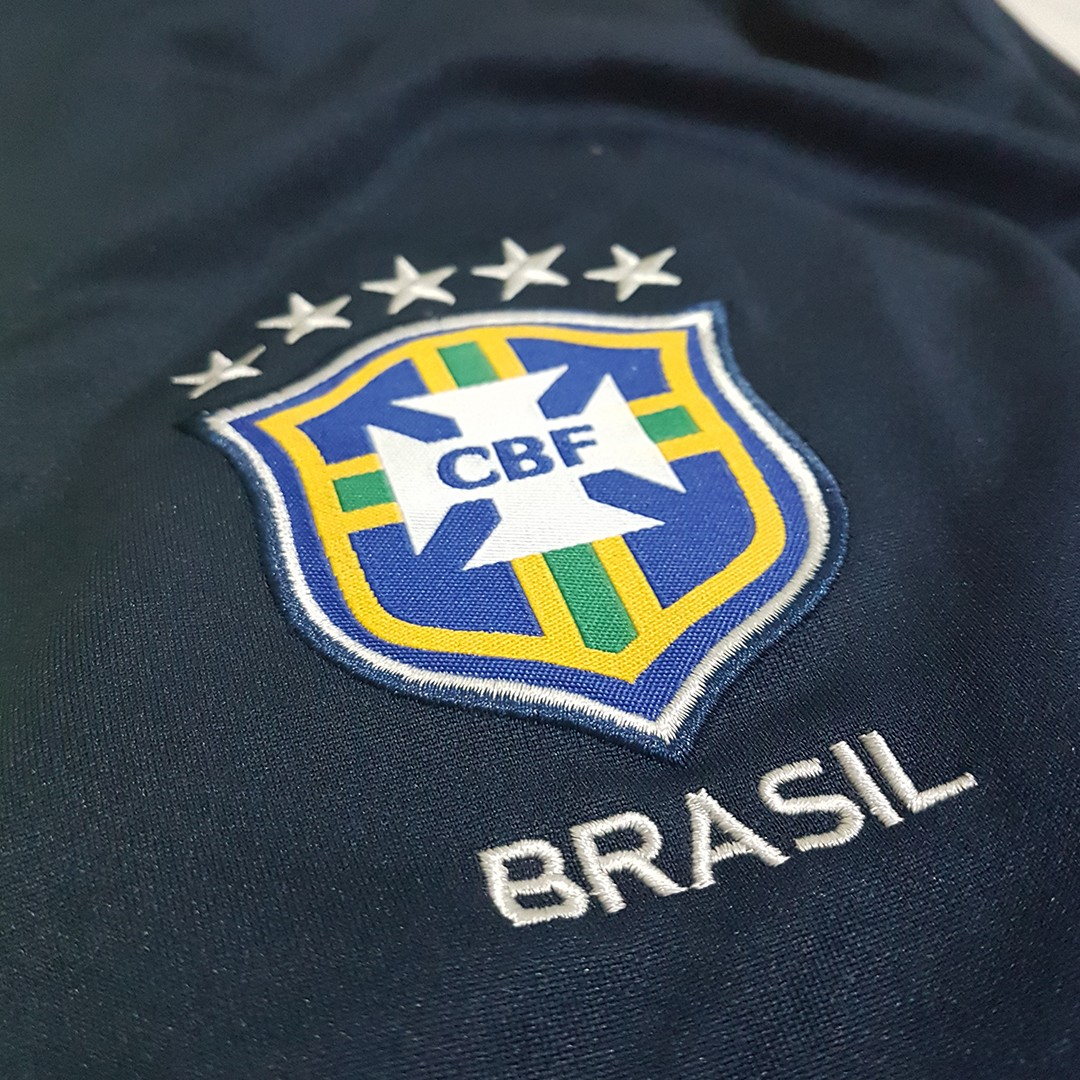 Foto10 - Conjunto Nike Agasalho de Treino Seleção Brasileira