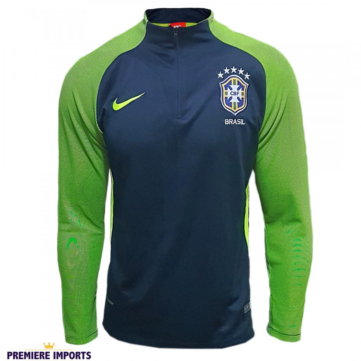 18c99ff4c Conjunto Nike Agasalho de Treino Seleção Brasileira - M - Premiere ...