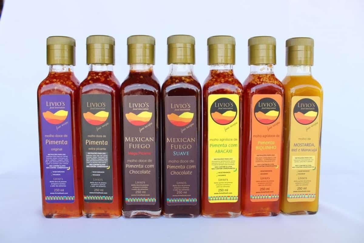 Imagem do produto MOLHO DE PIEMNTE AGRIDOCE 250 ml - LIVIO'S