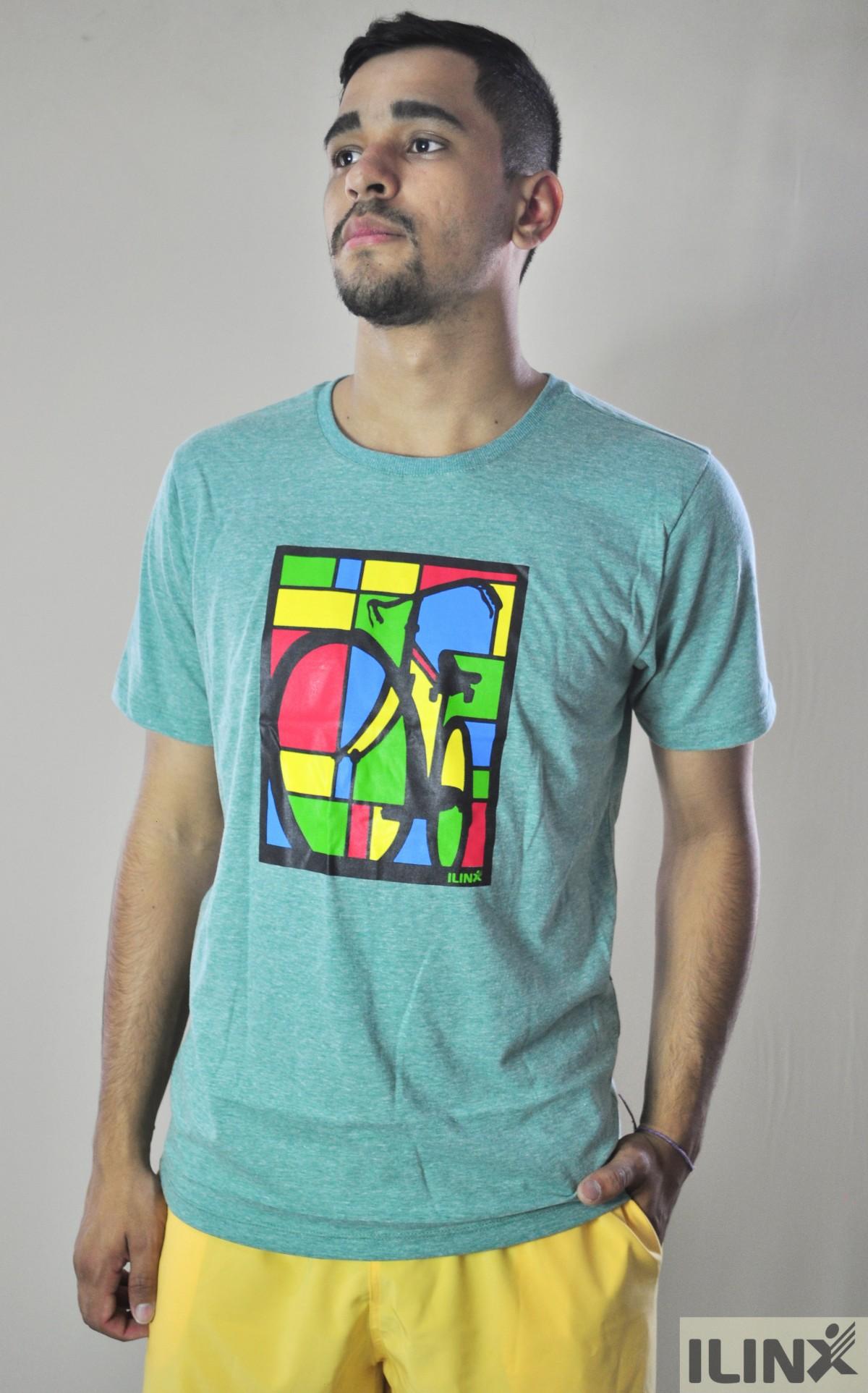 Camisetas Estampadas - Verde - Ilinx Modas 5ee78b56895d1