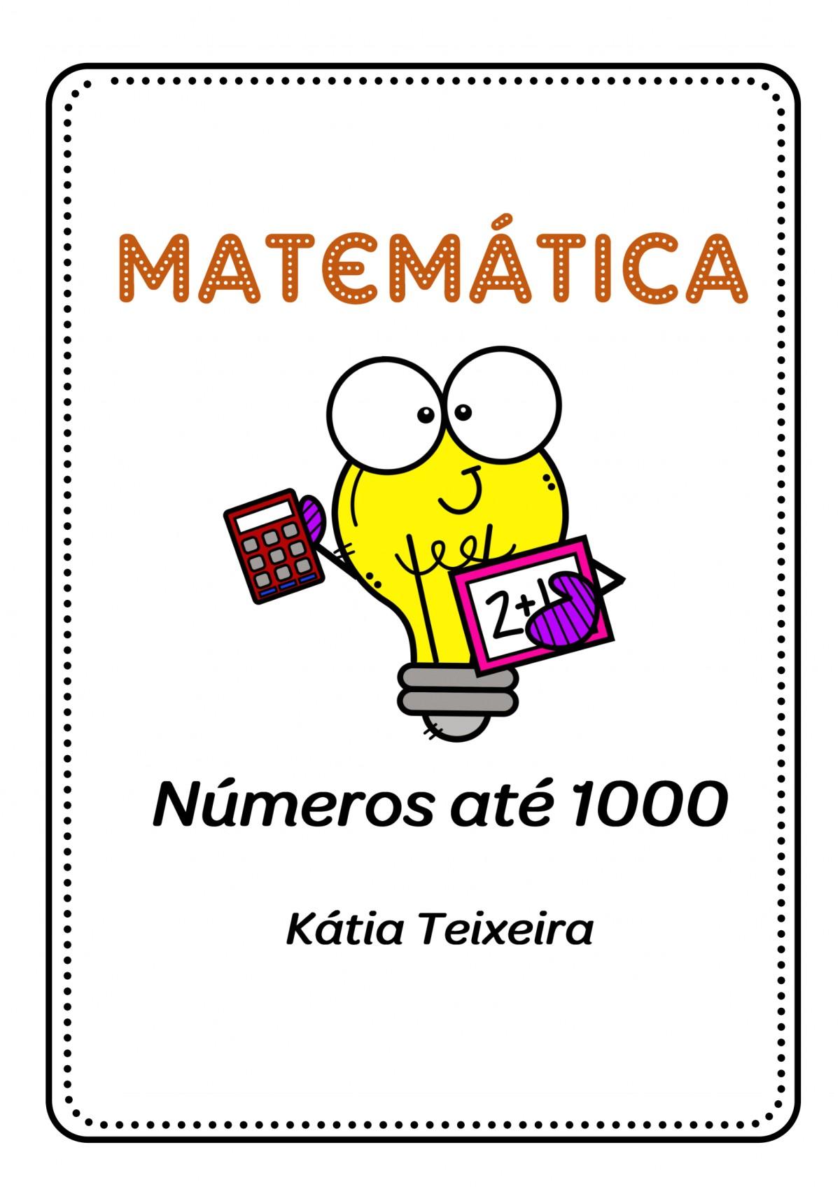 Foto2 - Atividades de matemática números até 1000 com diversos conteúdos