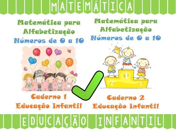Foto 1 - Atividades de Matemática para Educação Infantil Números de 0 a 10