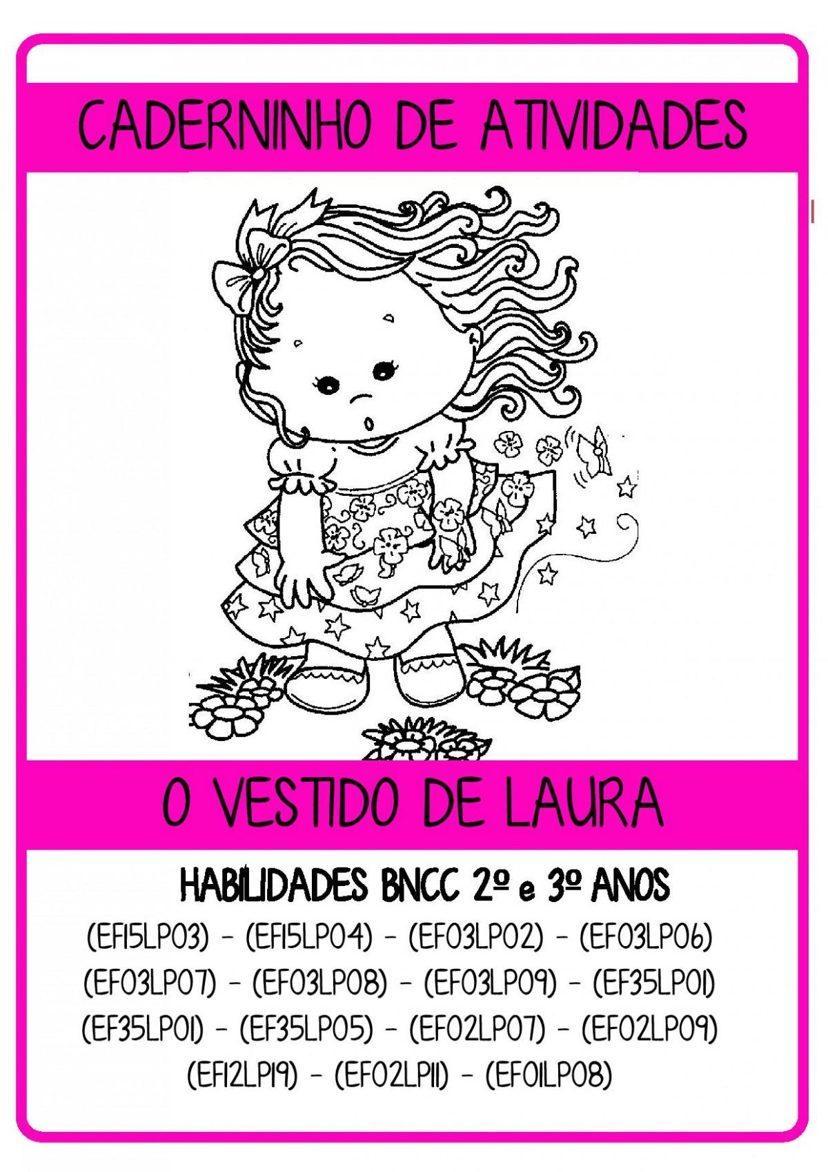 Foto 1 - Caderninho BNCC O vestido de Laura 2º e 3º anos
