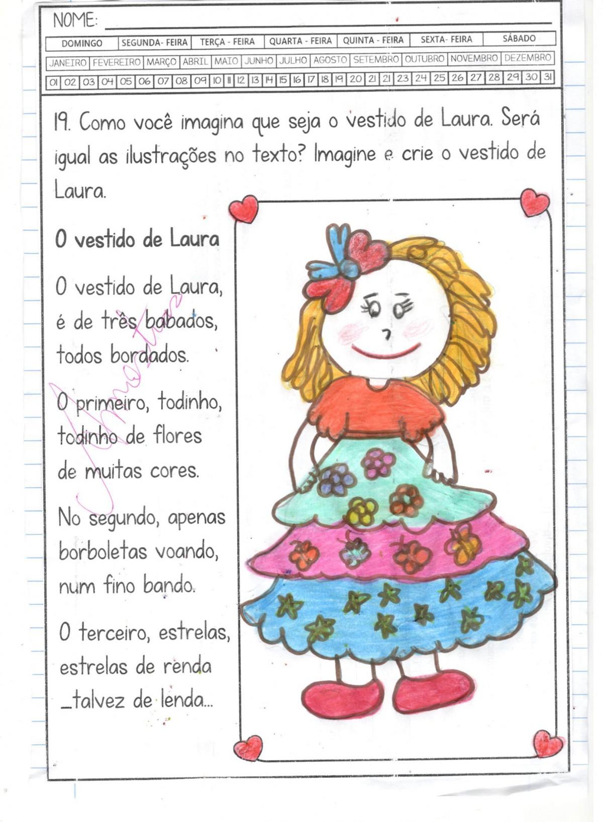 Foto3 - Caderninho BNCC O vestido de Laura 2º e 3º anos