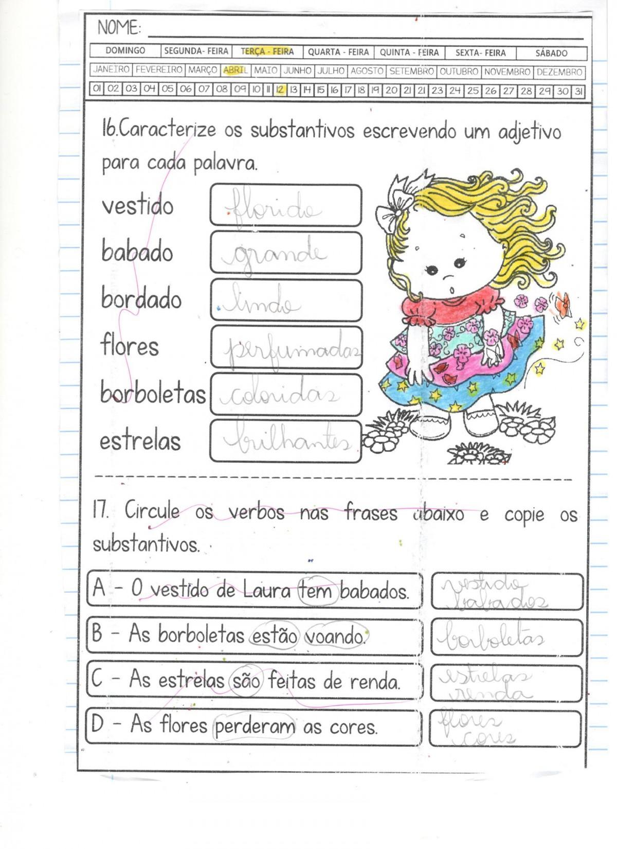 Foto4 - Caderninho BNCC O vestido de Laura 2º e 3º anos